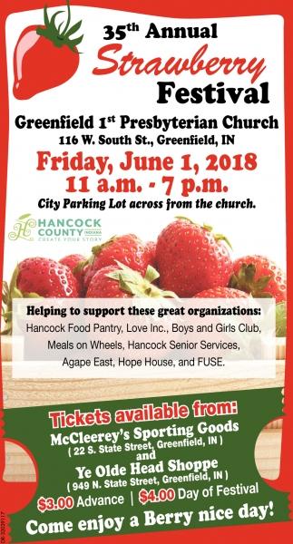 35th Annual Strawberry Festival