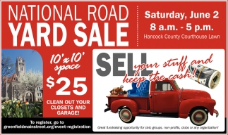 National Road Yard Sale