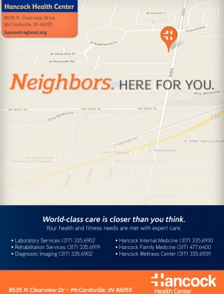 Neighbors. Here For You.
