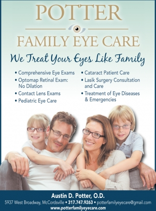 We Treat Your Eyes Like Family