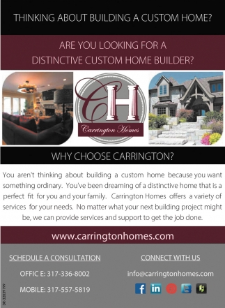 Thinking About Building A Custom Home?