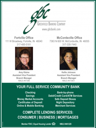 Your Full Service Community Bank