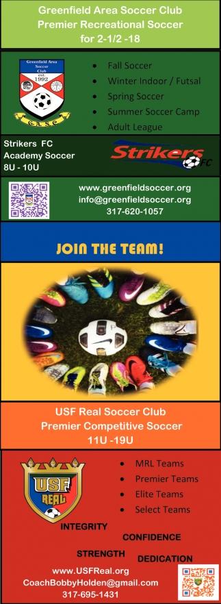 Premier Recreational Soccer For 2-1/2-18