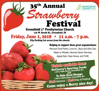 35th Annual Strawberry Festival