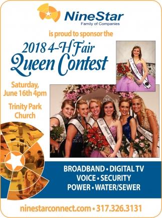 2018 4-H Fair Queen Contest