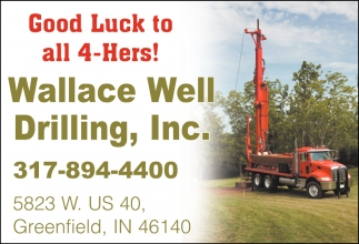 Good Luck To All 4-Hers!