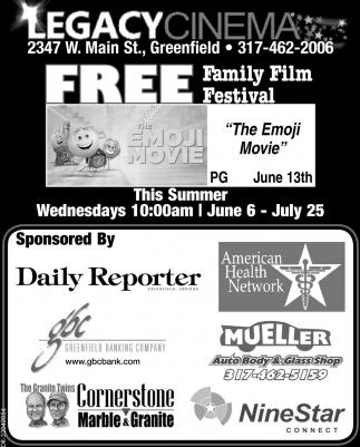 Free Family Film Festival