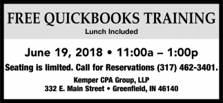 Free Quickbooks Training