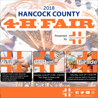 2018 Hancock County 4-H Fair