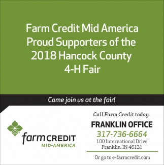 Call Farm Credit Today