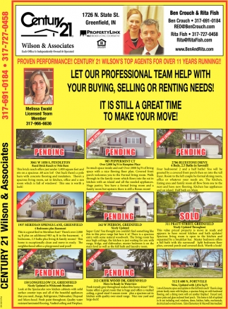 Let Our Professional Team Help With Your Buying, Selling Our Renting Needs!