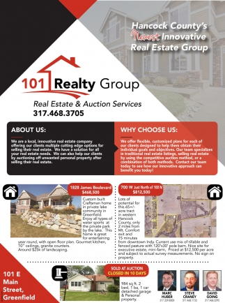 Real Estate And Auction Services